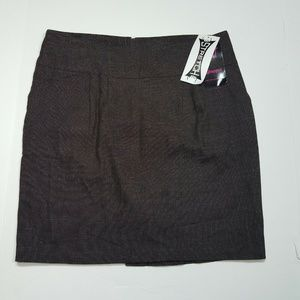 Wrapper Size 11 Brown Skirt